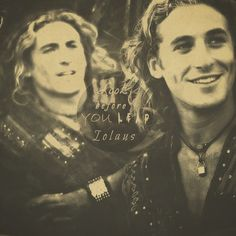 Look before you leap Iolaus-Dean O'Gorman as Iolaus in Young Hercules