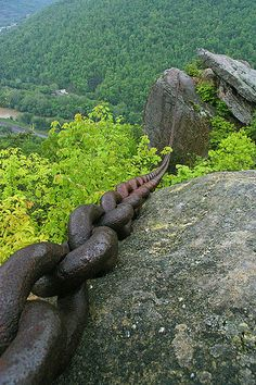 Chained Rock. Pineville, KY.