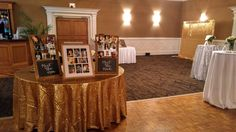 A Wedding Shower held in our Grand Ballroom for around 150 guests with a platter buffet. This stunning shower features white spandex chair covers, white linens, silver and gold sequin accents through out and our custom cocktail fountain station! Contact us to see what we can do for your upcoming event needs!