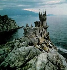 the Swallow's Nest castle on the Crimean peninsula in southern Ukraine