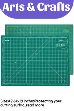 (This is an affiliate pin) Size:A2:24x18 inchesProtecting your cutting surface is the main function of a cutting mat, but there's a lot more to ZERRO's Self-healing Mats. Constructed using 5-layers of PVC plastics, these mats provide strength, durability, and longevity for all your craft and hobby needs. The benefits are a flat, even surface to work on, and a mat that lasts a long time. Self Healing, Read More, Craft Supplies, Strength, Layers, Arts And Crafts, Surface, Flat, Layering