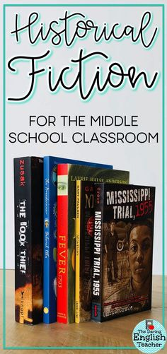 Historical fiction book recommendations for the middle school English language arts classroom. Your students will love reading these books that take place during historical times they've learned about in history.