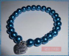 Bonita pulsera azul