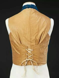 Mid-19th century waistcoat from The John Bright Collection.