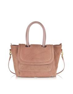 520993d33202 L'Autre Chose Barbie Pink Suede Medium Tote Bag at FORZIERI Australia