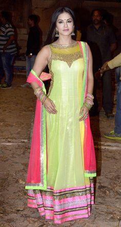 Sunny Leone on the sets of 'Leela'. #Bollywood #Fashion #Style #Beauty