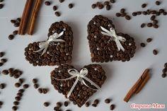 Девочки, может кого заинтересуют мои поделки из кофе  1) Магниты - в виде…