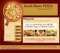 Pizzeria Website Web Design, Website, Food, Design Web, Essen, Meals, Website Designs, Yemek, Eten