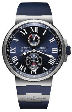 Ulysse Nardin 1183-122-3/43 Marine Manufacture Chronometer. #ulyssenardin