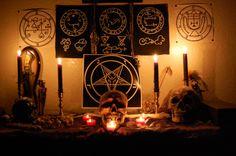 satanic altar - Google Search