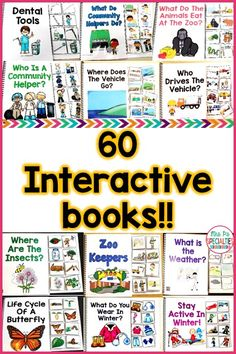 Get 13 books for FREE when you buy the interactive book bundle!! These adapted books cover topics for the whole school year. Students practice answering WH questions, matching, nouns, verbs and more with these interactive books. This bundle is perfect for special education classrooms, self-contained classes, speech therapy, students with autism and preschool programs.