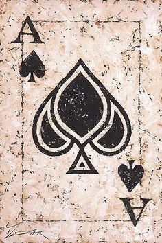 Ace of Spades - Trevor Mezak - World-Wide-Art.com