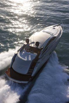 External view Pershing Yacht - Pershing 58'