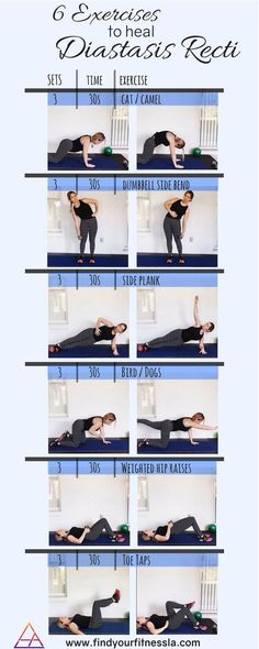 6 Exercises to heal Diastasis Recti. Prenatal and Postnatal core exercises. Tone… 6 Exercises to heal Diastasis Recti. Prenatal and Postnatal core exercises. Tone…,Rückbildung 6 Exercises to heal Diastasis Recti. Prenatal and Postnatal core. Post Baby Workout, Post Pregnancy Workout, Mommy Workout, Abs Workout Routines, Pilates Workout, Ab Workouts, Yoga Routine, Pooch Workout, Postpartum Workout Plan