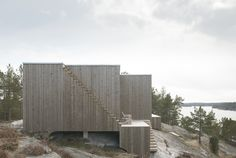 Gallery of House on a Cliff / Petra Gipp Arkitektur + Katarina Lundeberg _ women architects; Scandinavian architecture; wood; use of materials that age with dignity, to enhance the experience over time