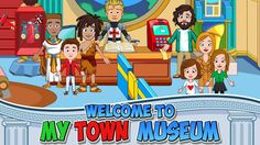 My Town : Museum v1.13   My Town : Museum v1.13Requirements:4.1 Overview:At My Town's Museum there is something fun and exciting in every room and something to play with behind every corner. Get your tickets ready and take the grand tour.  Awaken the ancient mummies of Egypt visit our prehistoric exhibition and dig for dinosaur bones put your armor on and ride your horse in a jousting tournament and even go to space. My Town museum is a both fun and educational.  WHY DO KIDS AND PARENTS LOVE…