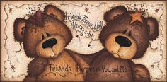 Friends Forever by Mary Ann June Have this cutie!