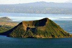 Taal Volcano is a complex volcano located on the island of Luzon in the Philippines. It is the second most active volcano in the Philippines with 33 historical eruptions. Les Philippines, Philippines Travel, Tagaytay Philippines, Taal Volcano, Active Volcano, Yogyakarta, Travel Planner, Fiji, Manila