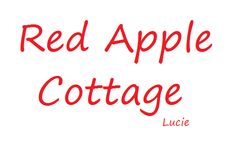 Cottage Names, Cottage Signs, Farm Cottage, Red Cottage, Apple Farm, Apple Orchard, Apple Valley, Pin Logo, Colour Board