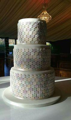love heart sweetie cake