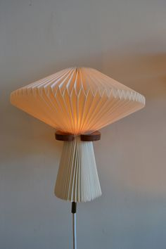 1stdibs.com | Pair of Accordian Shade Sconces by Le Klint