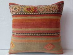 VINTAGE+Home+Decor+Vintage+Pillow+CoverDecorative+by+DECOLIC,+$38.00