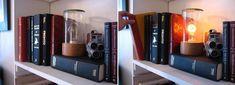 secret passage latch (or lamp switch) Book Lovers Gifts, Book Gifts, Secret Doors, Secret Passage, Lamp Switch, The Secret Book, Wonderful Things, Bookends, Hardware