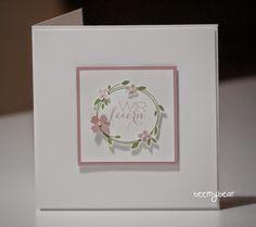 stampin with beemybear: Hochzeit, Einladungskarte, Stampin'up, Perfekter Tag, Überraschung
