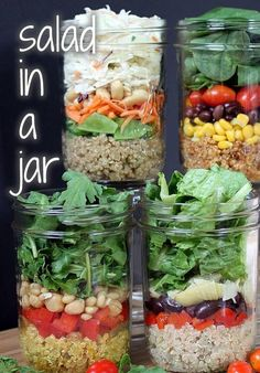 salad-in-a-jar = L.O.V.E