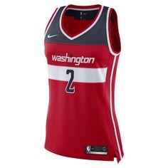 106305020 John Wall Icon Edition Swingman (Washington Wizards) Women s Nike NBA Connected  Jersey Size 2XL (University Red)