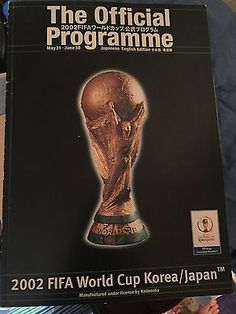 Fifa #world cup 2002 #programme,  View more on the LINK: http://www.zeppy.io/product/gb/2/322317348888/