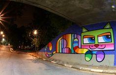 Miáucoles: Los gatos de la artista Minhau en São Paulo