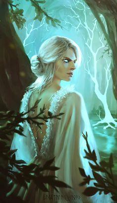Steam Community :: The Witcher Wild Hunt The Witcher Game, The Witcher Books, The Witcher Geralt, Witcher Art, Dark Fantasy Art, Fantasy Girl, Game Character Design, Character Art, Fantasy Inspiration