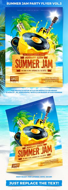 Summer Jam Party Flyer vol.3