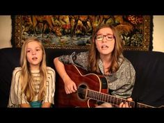 "I've posted a vid of these gals before, but they've come out with another one! Lennon and Maisy are two sisters with INCREDIBLE talent from right here in Nashville. This is them singing ""Sunglasses at Night."" Let's make these girls famous! Do you like it?"