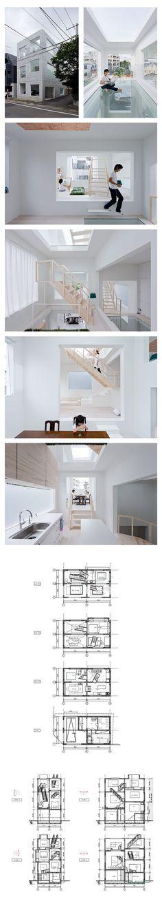 House H by Sou Fujimoto | Tokyo, Japan