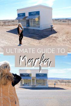 The Ultimate Guide to Marfa Texas Marfa Texas, Texas Usa, Marfa Lights, Prada Marfa, Usa Travel, Travel Tips, Beautiful Places To Travel, Ultimate Travel, Travel Around The World