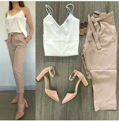 19 Elegant Chic Outfits Ideas is part of Outfits juvenil - 19 Elegant Chic Outfits Ideas Womens Fashion Fashionable Casual Work Outfits, Business Casual Outfits, Mode Outfits, Classy Outfits, Stylish Outfits, Fall Outfits, Summer Outfits, Fashion Wear, Look Fashion