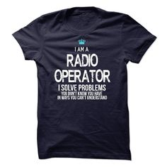 (Tshirt Coupons) I am a Radio Operator [Tshirt design] Hoodies Tees Shirts