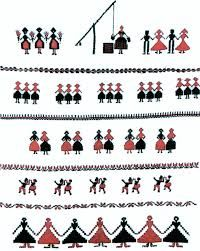 Beautiful Romanian Folk Motifs and the Objects They Are Depicted On Folk Embroidery, Embroidery Stitches, Cross Stitch Borders, Cross Stitch Patterns, Bead Loom Bracelets, Ethnic Patterns, Of Wallpaper, Loom Beading, Local Artists