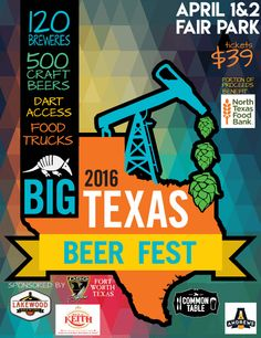 Big Texas Beer Fest returns to Dallas on Friday & Saturday, April 1-2