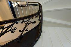 Totalrenovering av trappegang i gammel bygård.