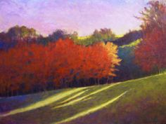 Ken Elliott Colorful Slope 36 x 48 inches, oil on canvas  sold