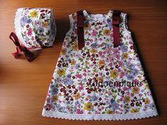 TODO EN PIQUE para bebé: Estampados Baby Wearing, Summer Dresses, Baby Dresses, How To Wear, Clothes, Amelia, Ideas Para, Babys, Stitching