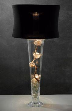 spandex vase lamp