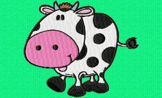 une jolie petite vache