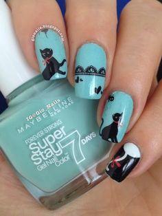GioNails #cat #nail #design #nailpolish #manicure