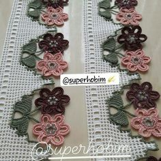 Collars, Crochet Necklace, Jewelry, Needlepoint, Necklaces, Jewlery, Jewerly, Schmuck, Jewels