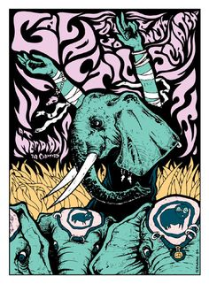 GigPosters.com - Galactic - Scratch