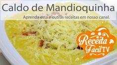 Caldo de Mandioquinha (Como faz Sopa de Mandioquinha?) - Receita Fácil